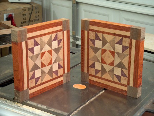 Cutting Board Designs End Grain